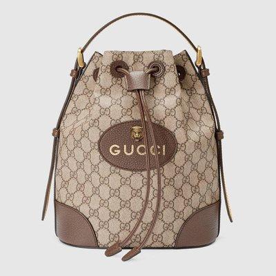 【BB歐洲代購】預購 GUCCI GG Supreme backpack 水桶包 後背包