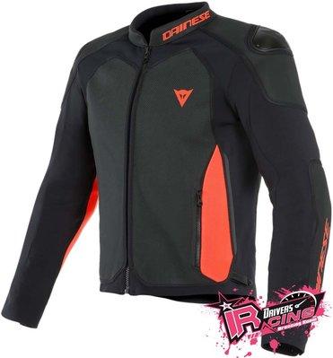 ♚賽車手的試衣間♚Dainese® Intrepida Leather Jacket B/R 打洞款 皮衣 防摔衣
