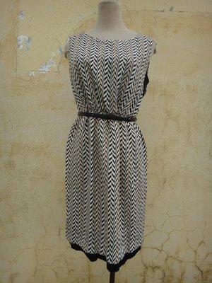 jacob00765100 ~ 全新 正品 SINGLE NOBLE 獨身貴族 雪紡 洋裝 size: 38