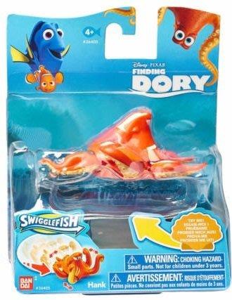 BAN DAI-Disney PIXAR 海底總動員2-尋找多莉-章魚Hank (底部有可滑動輪軸)
