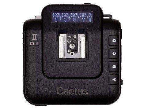 呈現攝影-Cactus V6II組 通用型閃燈觸發器2.4G 收發一體 高速同步 跨系統通用 雙閃 喚醒 TTL 離機閃