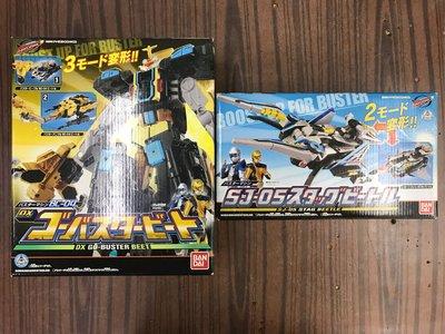 日版 全新 BANDAI 特命戰隊 GO-BUSTERS DX 特命戰神套裝