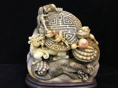 *藏雅軒*早期收藏-老雕工-壽山石系列...