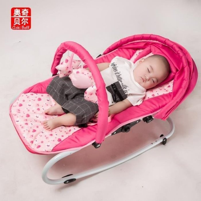 雨晴嚴選 限時優惠搖搖椅 嬰兒多功能音樂搖搖椅新生兒哄娃YQ565
