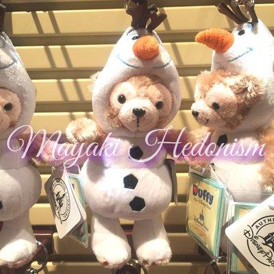 MAYAKI【香港直送】迪士尼 Duffy 達菲熊 Olaf 小白雪寶造型吊飾 匙扣 鑰匙圈 (台灣) 現貨