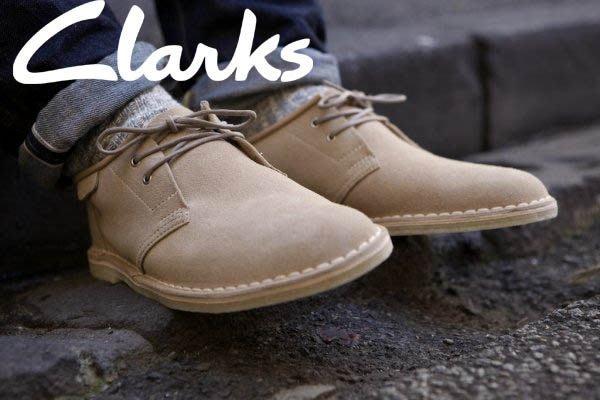 【現貨】全新正品 英國 Clarks Originals Jink Oxford 袋鼠 低筒靴 麂皮 米駝 7.5 8 8.5 9 9.5 10 10.5