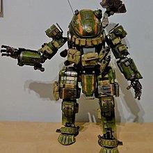 1比12  Threezero Titanfall  M-COR Orge Militia 泰坦隕落 綠重裝甲 機器人   👀見咁多