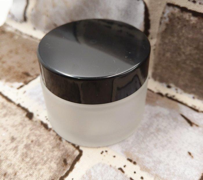 【三越Garden】磨砂瓶-50 g 黑瓶蓋