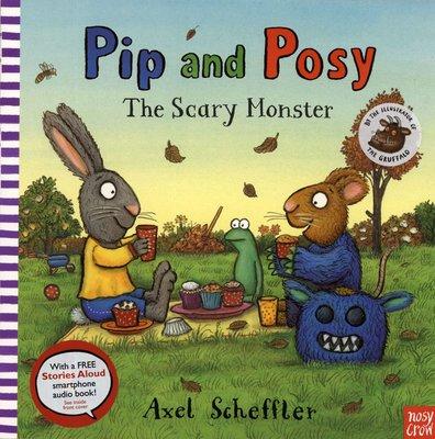 *小貝比的家*PIP AND POSY:THE SCARY MONSTER/平裝/3~6歲/友誼/可連結至原出版社試聽