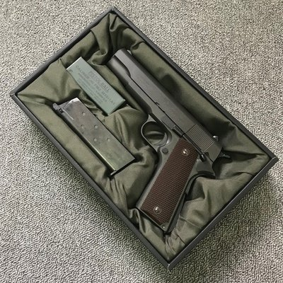【森下商社】MARUI M1911A1 GOVERNMENT GBB 瓦斯手槍 黑色 13504