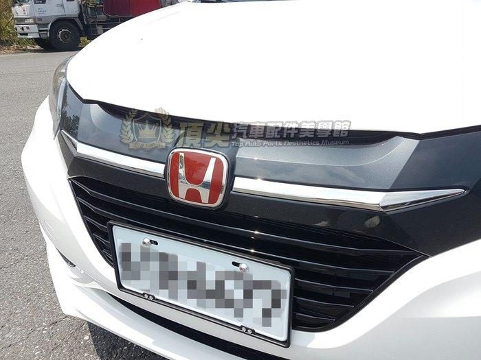 HONDA本田FIT3【紅LOGO標誌-2件式】15-20年FIT3代-3.5代 前後廠徽 紅標 紅色mark 前後標誌