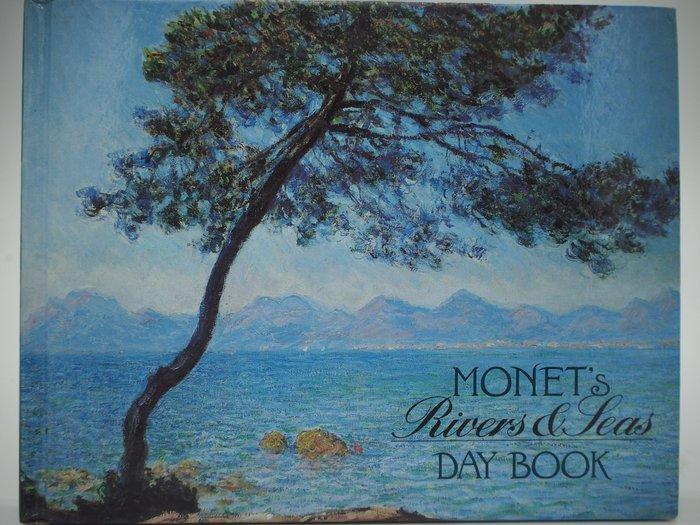 【月界二手書店】Monet's Rivers and Seas Day Book(絕版)_莫內精裝本年曆簿〖藝術〗AIZ