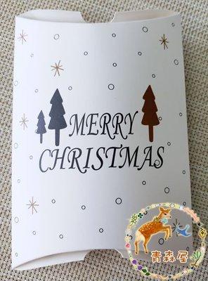 (BX0002)新年燙金聖誕樹圖案小禮物盒 1個裝