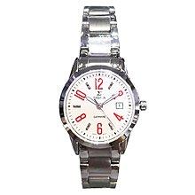 SIGMA 簡約風格 藍寶石水晶鏡面 時尚腕錶 88023L-4
