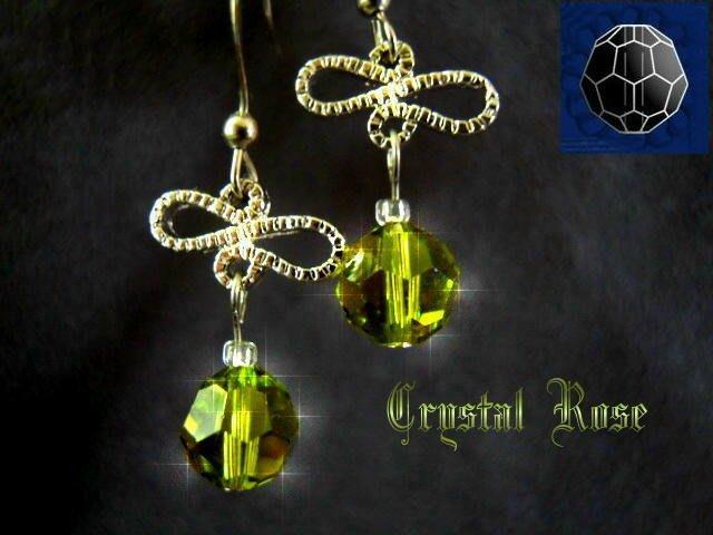 ※水晶玫瑰※ SWAROVSKI 8mm水晶珠 耳勾式針式耳環(DD338)~出清~三對免郵
