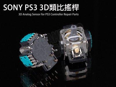 SONY PS3 全新原廠類比模組 類比搖桿(D3手把搖桿無線控制器專用四針腳)【台中恐龍電玩】