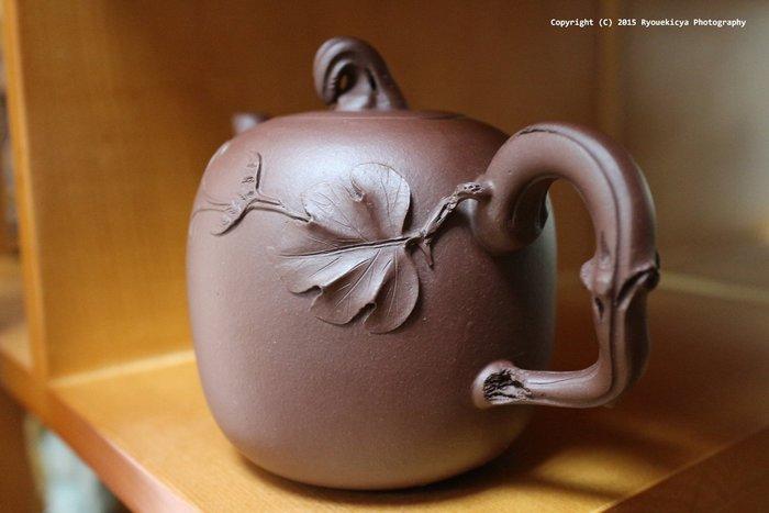 蔣菊仙 / 南瓜壺 約70-80年代 紫砂壺 【超特價】