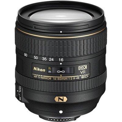 【中野數位】Nikon 尼康 AF-S DX 16-80mm F2.8-4E ED VR 標準變焦 鏡頭鏡頭 平輸 拆鏡