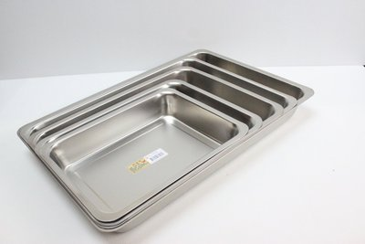 哈哈商城 高 5cm 中  304 不銹鋼 方盤~ 餐盤 餐具 托盤 茶盤 餐飲 烤盤  盤子 螺絲 開店 小吃 機械