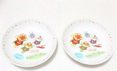天使熊小鋪~日本帶回麵包超人Anpanman骨瓷湯盤 湯碗 點心盤 餐盤 日本製~原價750