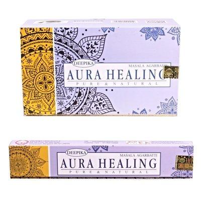[晴天舖] 印度線香 DEEPIKA AURA HEALING 療癒 銷售日本 新品精緻上市!