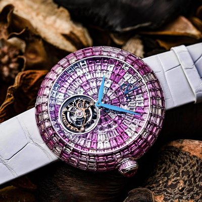 Jacob & Co. [NEW] Brilliant Flying Tourbillon Pink Camouflage BT543.30.CP.CP.B