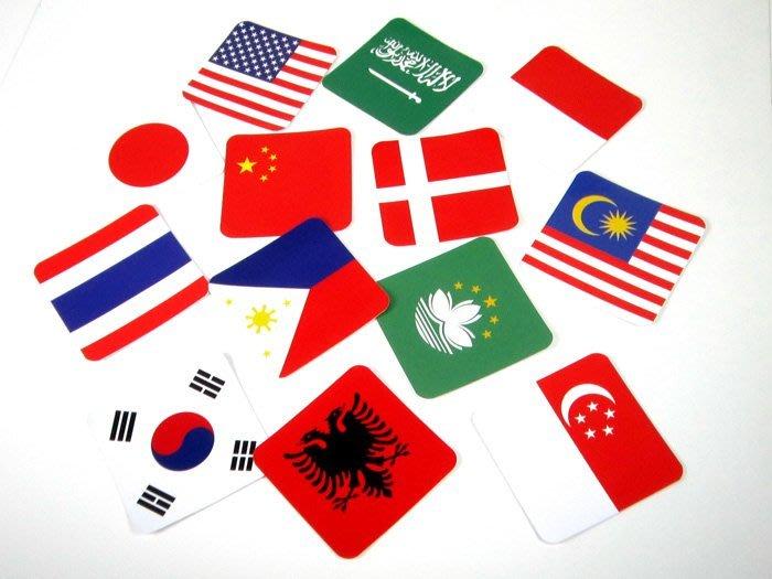 【衝浪小胖】方形登機行李箱貼紙/抗UV防水/旅行箱/世界多國可收集訂製