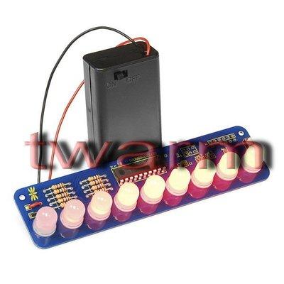 r)Sparkfun原廠Larson Scanner Kit-10mm Diffused LEDs套件KIT-11365