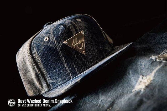 [ RENEXO ] HATer Dust Washed Denim Snapback 丹寧 水洗牛仔 棒球帽