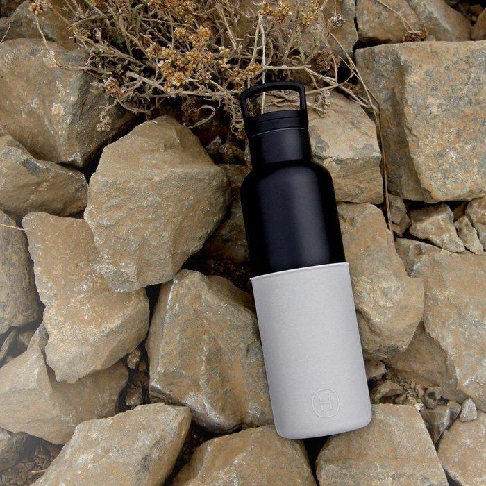 (限時2件88折/免運)美國HYDY時尚保溫水壺-黑瓶 590ml