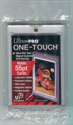 【☆ JJ卡舖 ☆】美國原廠 Ultra Pro 抗UV款 - 吸磁式卡夾 / 磁鐵卡夾 尺寸:55pt