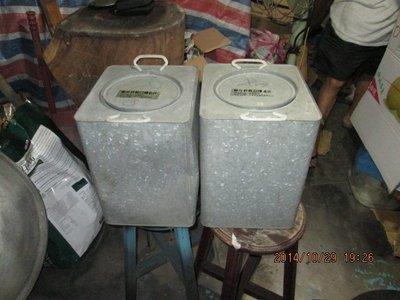 早期 軍用野戰口糧空桶(兩各一起賣)