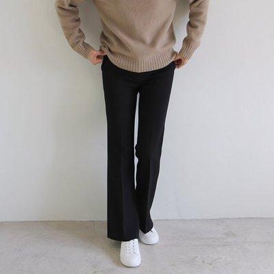超級推薦  買過都說好!Girlmonster 正韓 靴型西裝褲 (黑 /深藍/灰色) 【A0118】