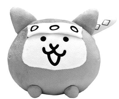 日本正版 貓咪大戰爭 忍者貓 娃娃 玩偶 日本代購
