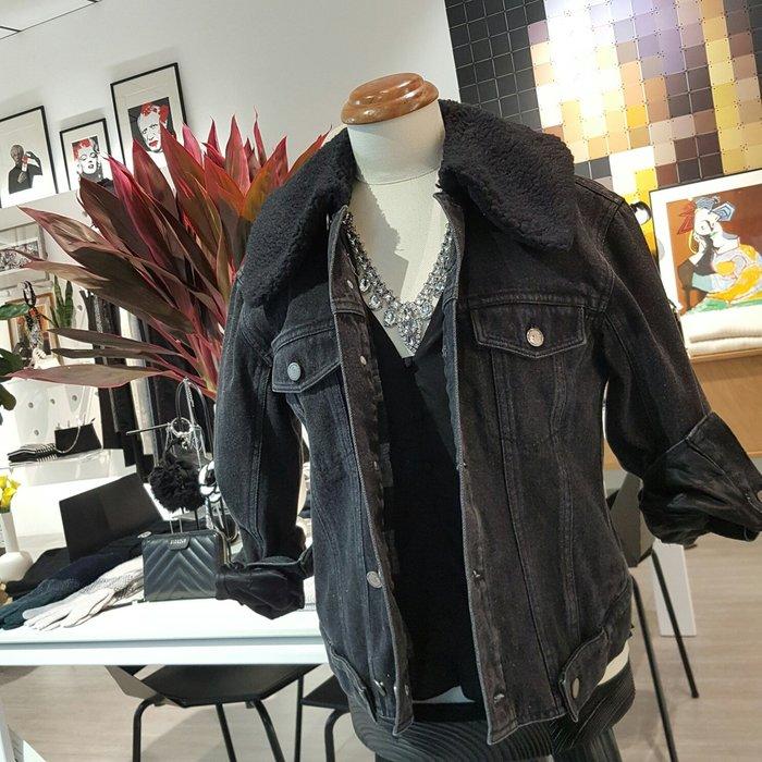 [ RainDaniel ] 3.1 Phillip Lim 美國時尚潮牌 刷色灰 牛仔夾克外套