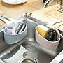 吸盤水槽掛袋 瀝水籃 吸盤 浴室瀝水籃 廚房...