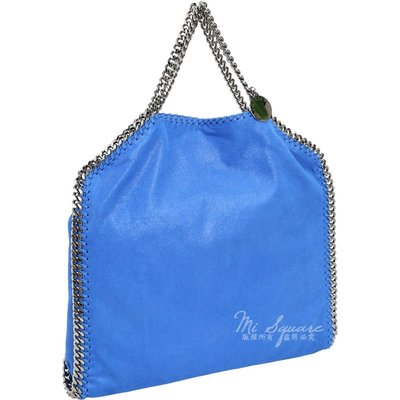 米蘭廣場 Stella McCartney Falabella Shaggy 鍊帶兩用包(藍色) 1711116-23