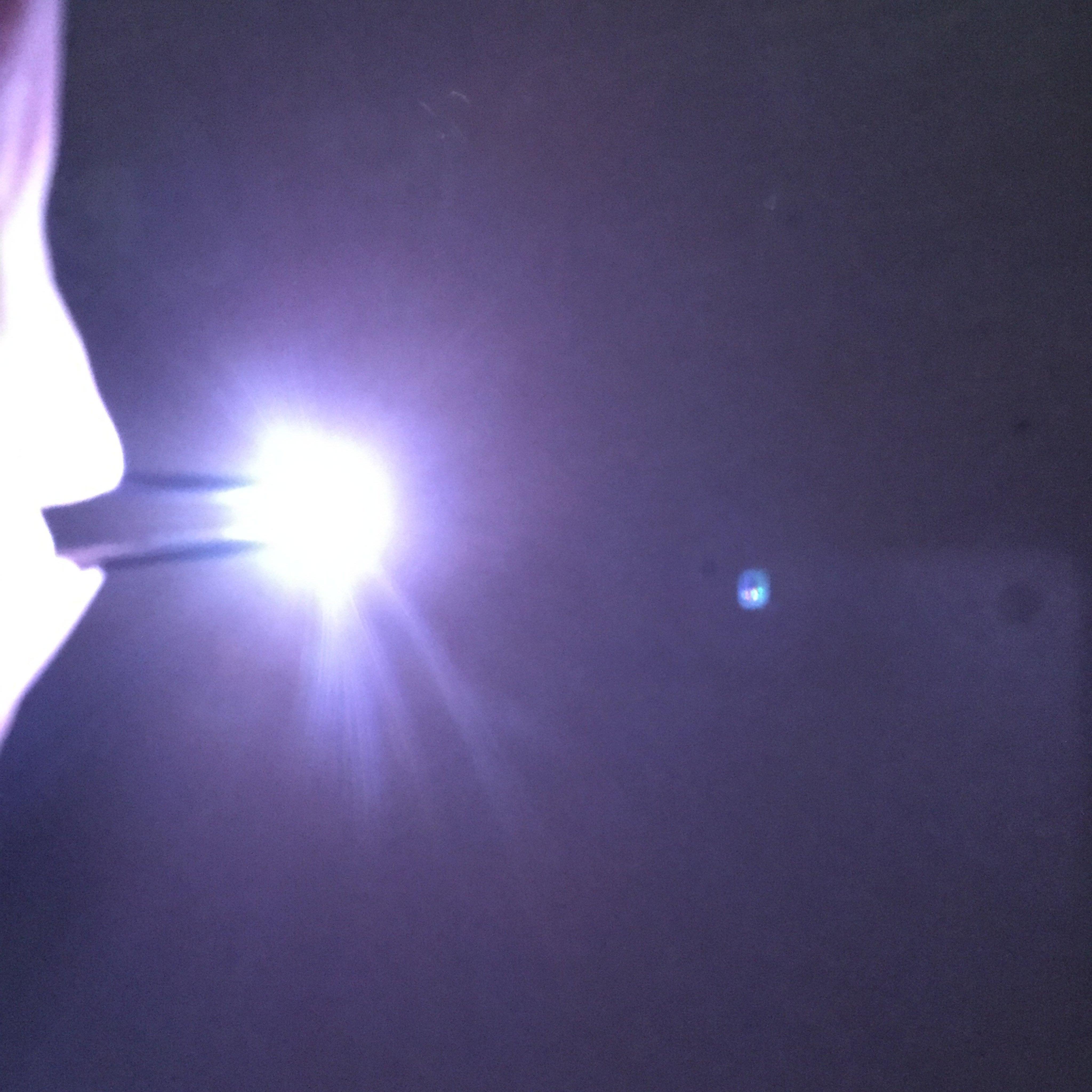 2835型貼片LED七彩變色SMD燈珠-快閃-慢閃漸層變化-通電自動變化-模型-造景-3V