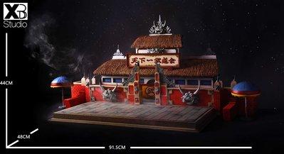 XBD studio 龍珠經典場景 天下第一武道會 地臺雕像 全球限量