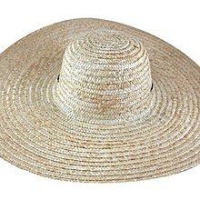 ☆二鹿帽飾☆ 帽簷特大款(50cm)/ 遮陽效果極佳/ 大海灘大草帽/選舉遊街專用帽~特價120元