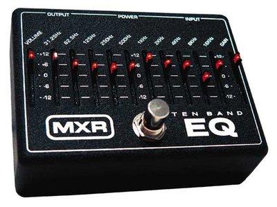 ☆ 唐尼樂器︵☆ MXR M108/ M-108 10段 EQ 電吉他/電貝斯 Bass 等化器效果器