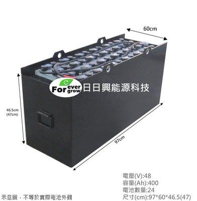 【日日興能源科技】 UNU TCM 1.5噸堆高機 FB15-7 電動堆高機蓄電池 48V400Ah