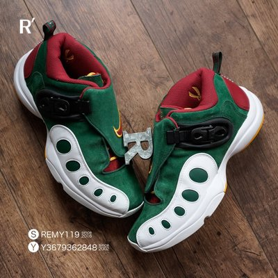 R'代購 Nike Zoom GP Retro Gary Payton OG 白綠紅黃 超音速手套 AR4342-300