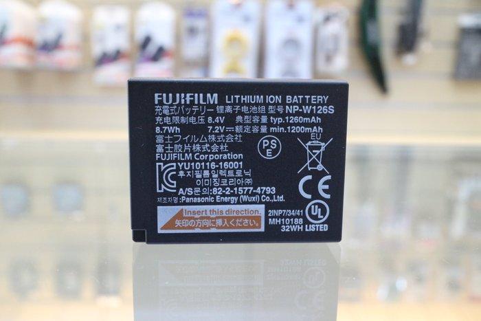 【日產旗艦】FUJI NP-W126S W126S 原廠電池 裸裝 XT20 XT2 XT100 XE3 XT3 XH1