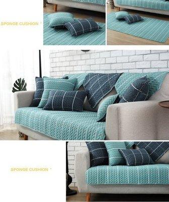 【RS Home】[1+2+3人座] 沙發墊沙發巾沙發罩床墊記憶枕床包床旁電視櫃墊客廳地墊 [北歐典藏]