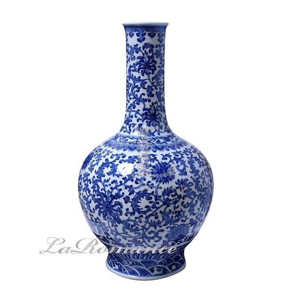 【芮洛蔓 La Romance】正宗景德鎮青花瓷之仿古青花 C / 花器 / 花瓶