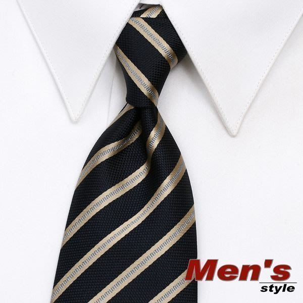 7-11取貨付款「vivi時尚領帶」☆↘-手打寬。9cm( 514-4藍金)
