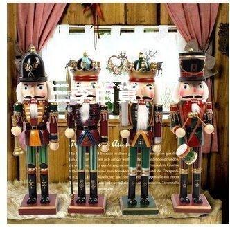 三季 胡桃夾子木偶兵30cm 禮物禮品 裝飾擺件 家具擺設❖844