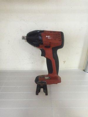 喜得釘二手手電鑽HILTI*SID14A 無碳刷馬達14.4V鋰電池衝擊4分扳手(單主機)不含電池