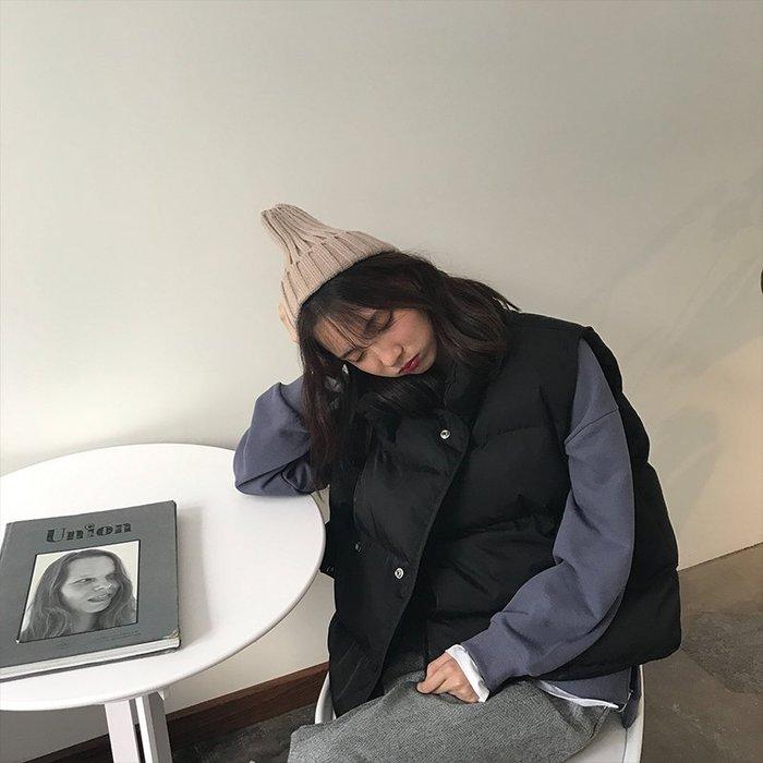 NETSHOP collection 韓)鋪棉oversize造型感外搭背心 兩色